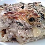 recette Lasagne de courgettes et poulet au mascarpone gratiné au parmesan