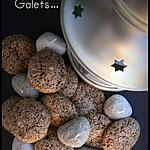 recette GALETS AU CHOCOLAT (Bredele)