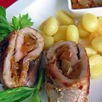 recette Escalopes de jambon et son chutney d'abricots