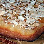 recette Gâteau renversé aux amandes et aux abricots