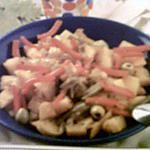recette pommes de terre aux olives