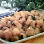 recette pommes de terre à la menthe