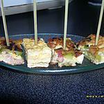 recette omelette courgettes et lardons