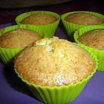 recette muffins a la noisette