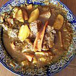 recette tajine boeuf pommes de terre carottes