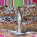 recette Gâteau aux noix,amandes et noix de coco dit :  KHOBZ EL BEY