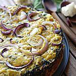 recette Gâteau de chou-fleur, basilic et parmesan