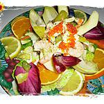 recette Salade  « Agullana »