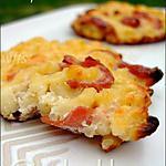 recette Galettes de coquillettes au bacon