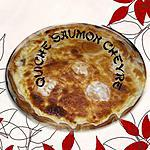 quiche saumon chevre