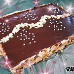 recette Entremet pêche/chocolat