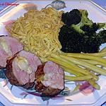 recette Filet de porc aux poires et fromage suisse