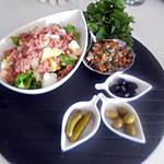 recette taboulet libanais de maman et ma salade de corned beef