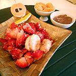 recette Salade fraise-banane-coco