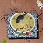recette crumble poire praline