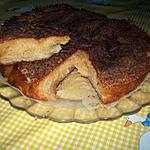 recette gateau pomme abricot