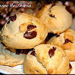 recette Petits gâteaux aux pépites de chocolat et miel des Cévennes
