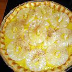 tarte a la creme d ananas