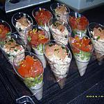 recette petites verrines de la mer (apéro entres amis)