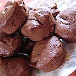 recette Bouchées au chocolat