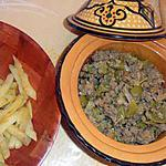 recette Tajine rapide à la viande hachée