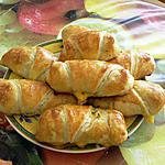 recette croissant au poisson