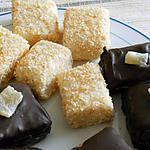 recette petites bouchées de riz au lait de coco