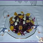 recette Salade Gourmande Harmonie Pourpre
