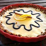 recette Tarte au citron et speculos