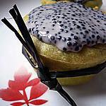 recette Muffins d'avocat au coeur de tarama et crème d'oeufs de lompe
