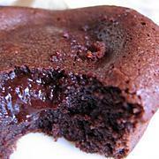 fondant au chocolat : recette Moelleux chocolat coeur fondant