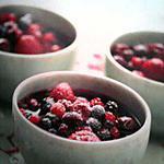 recette Cocotte de fruits rouges et griottes à l'orange
