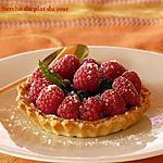 recette Tartelettes aux fruits rouges et au muscat