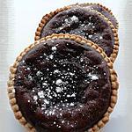 recette Tartelettes aux marrons & au cacao