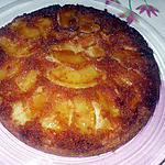 recette 4 quarts aux pommes caramélisées