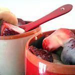 recette Petit pots de fraises et bananes au lait concentré