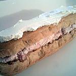 recette Eclairs à la mousse de mascarpone et jambon