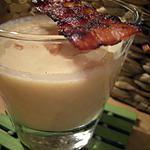 recette Crème de Chou-Fleur au lard grillé