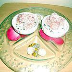 recette Boule fraise Tagada ® façon truffe