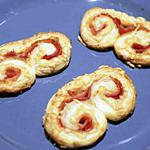 recette Palmiers jambon-fromage