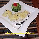 recette Filets de poulet et mousse d'épinard au colombo