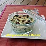 recette Cassolettes de champignons à la crème