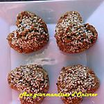 recette Nonettes aux pépites de chocolat