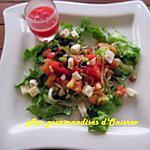 recette Tartare de tomate et son gaspacho de pastèque