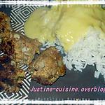 recette boulettes de colin panées
