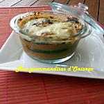 Aubergine gratinée à la sauce portugaise