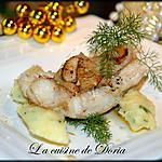 recette Lotte de Noël et sa purée de panais