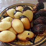 recette Madeleines au citron, coque chocolat