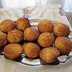 recette muffins a la banane et coeur de nutella