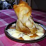recette Pommes caramélisées dans sa brique.